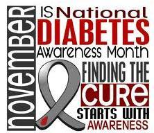 November Is Diabetes Awareness Month!