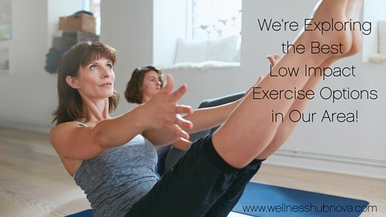 6 Low Impact Exercise Options to Try